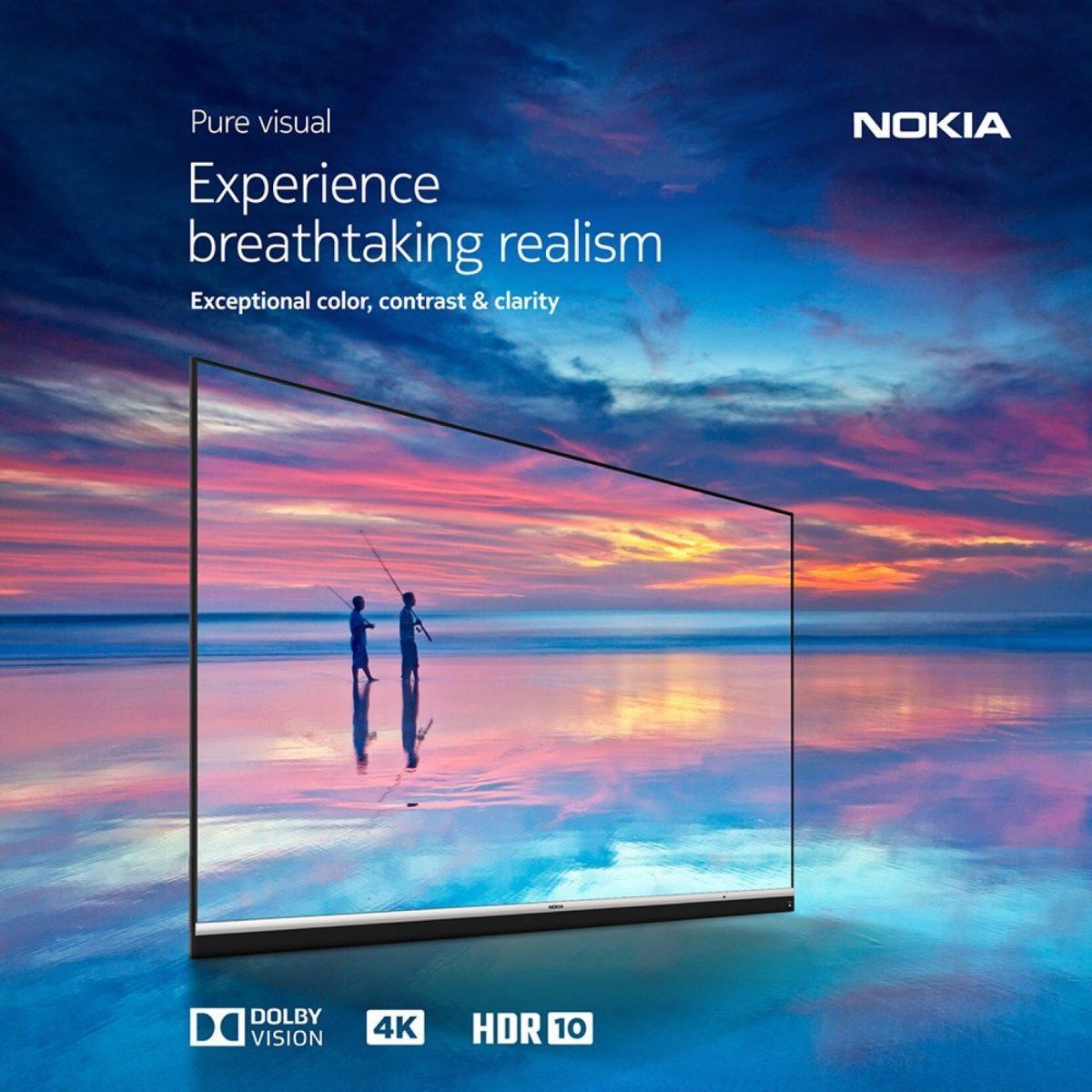 Nokia представила свой новый телевизор с 4K и звуком от JBL