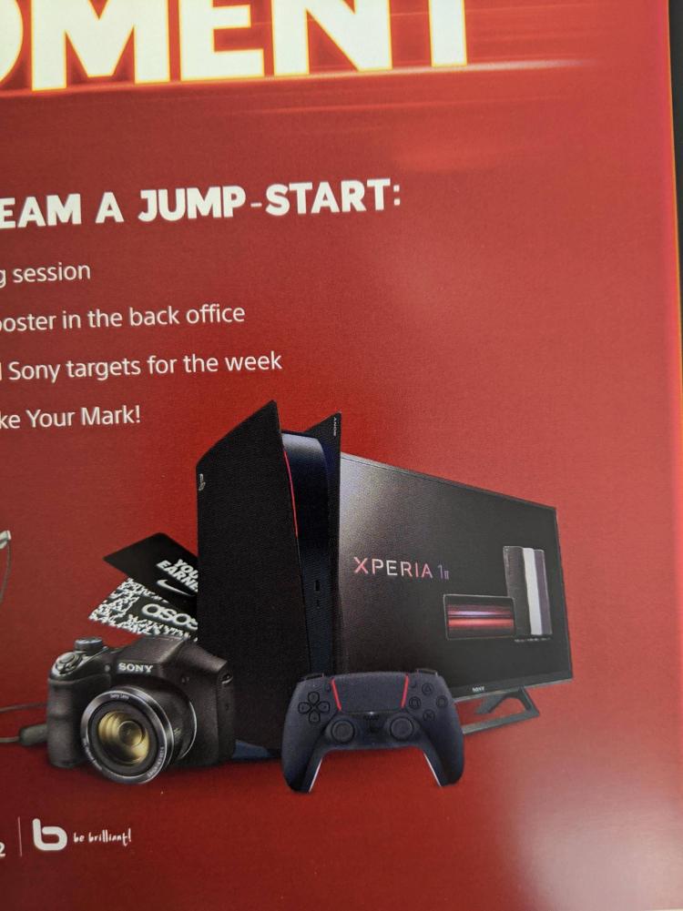 В сеть утекло изображение нового варианта дизайна PlayStation 5