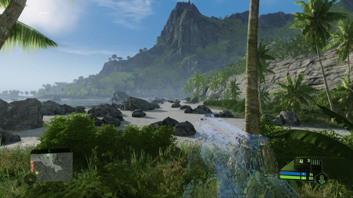 Графику в перевыпуске Crysis сравнили с оригинальной