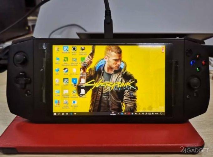 Компактный игровой компьютер Aya-Eve – конкурент Nintendo Switch (3 фото + видео)
