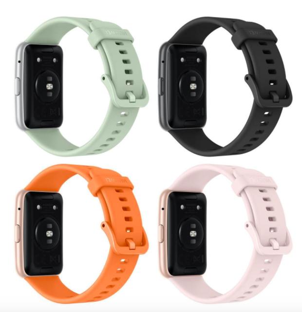 Huawei выпустит похожие на вытянутые Apple Watch часы