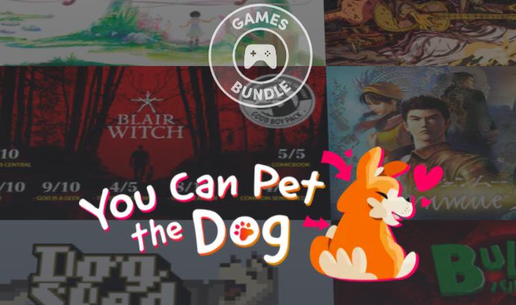 Коллекцию игр, в которых можно погладить собаку, отдают со скидкой