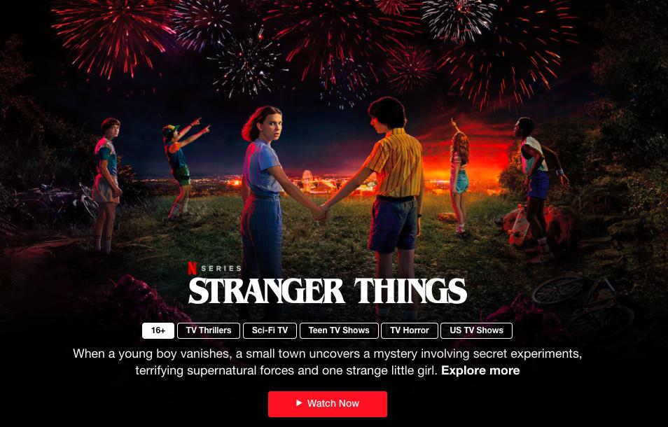 Онлайн-кинотеатр Netflix открыл доступ к некоторым фильмам бесплатно и без регистрации