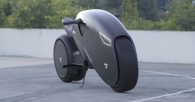 Представлен концепт электрического супербайка будущего Mimic Superbike, выполненного в стиле Akira (6 фото)
