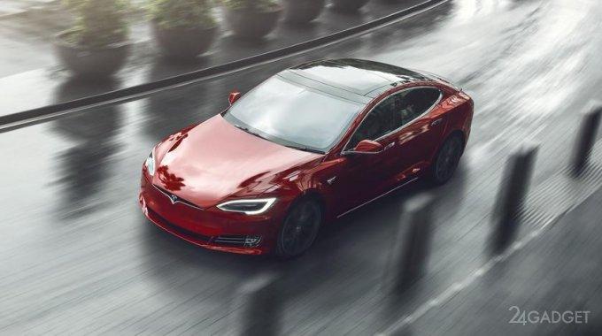 Представлен спортивный седан Tesla Plaid Model S с рекордной мощностью 1100 л.с. (2 фото)