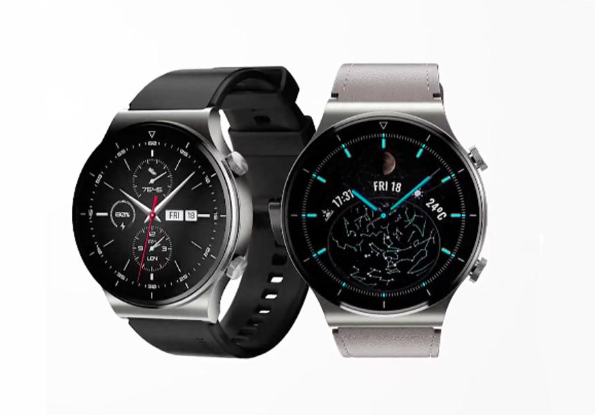 Представлены новые «умные» часы Huawei Watch GT 2 Pro