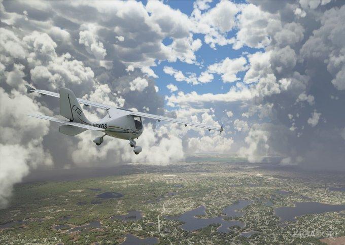 Развитие игровой графики за 40 лет продемонстрировано на примере Microsoft Flight Simulator (видео)