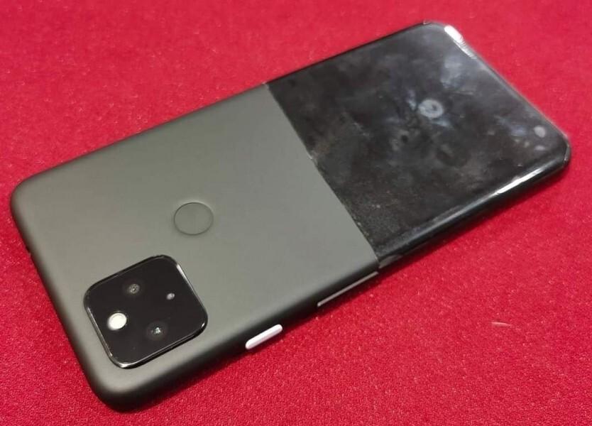 Раскрыта странная внешность прототипа смартфона Google Pixel 5