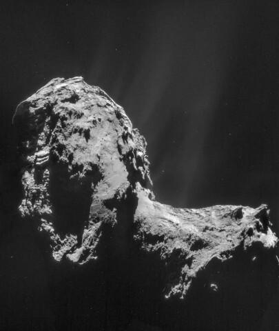 Ученые впервые в истории сфотографировали полярное сияние на комете