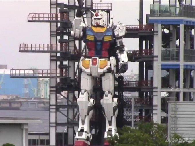 Японцы создали робота высотой в 6 этажный дом (видео)
