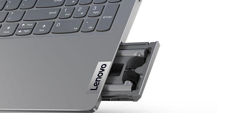 Lenovo представила ноутбук со встроенными беспроводными наушниками