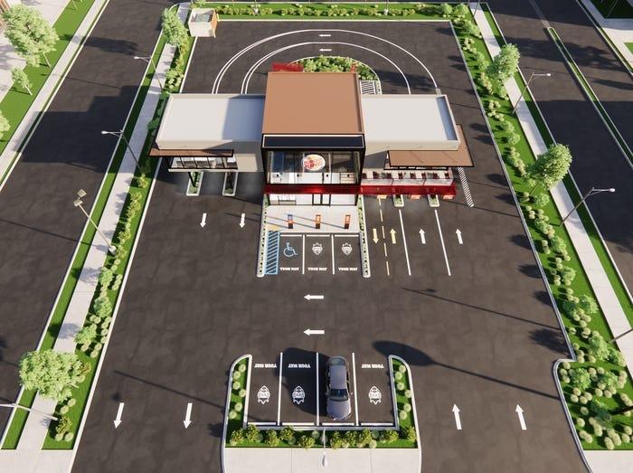 Burger King показал рестораны будущего
