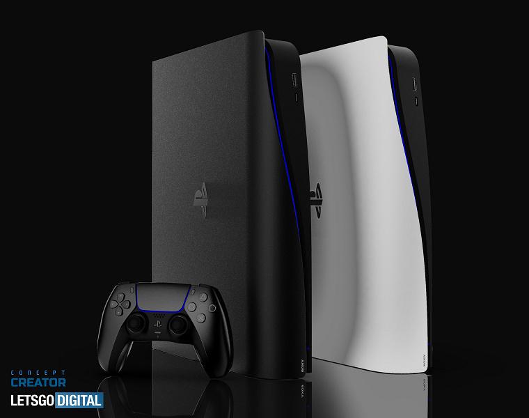 Опубликовано видео концепта компактной PlayStation 5 Slim