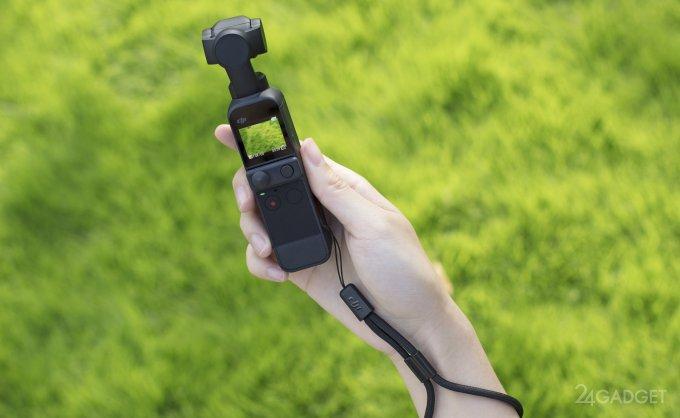 Представлена новая 4K экшн-камера DJI Osmo Pocket 2 (4 фото + видео)