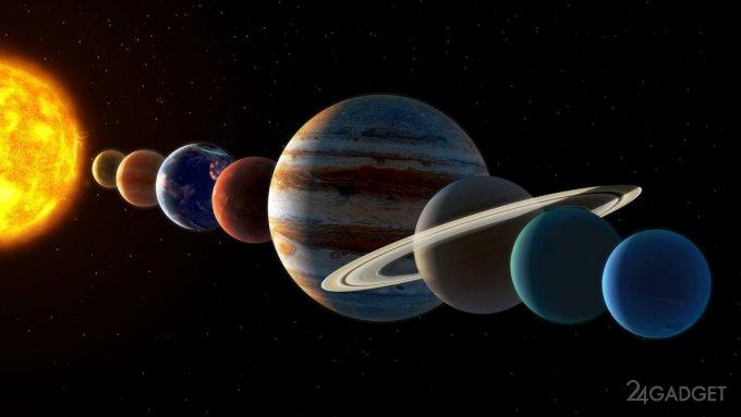 2020 год завершается уникальным парадом планет