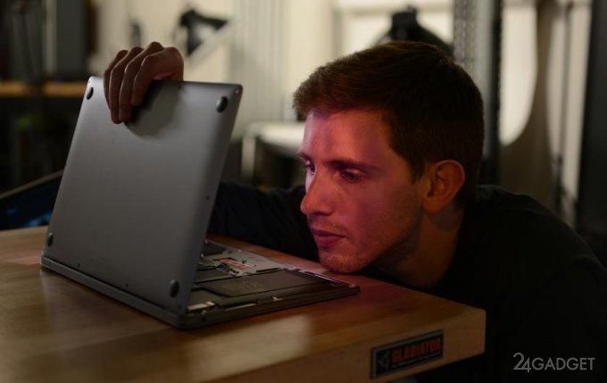 Внутреннее устройство MacBook Air и MacBook Pro 13 с чипом M1 идентично предыдущим сериям ноутбуков (4 фото)