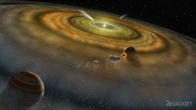 Определен точный возраст и время формирования Солнечной системы