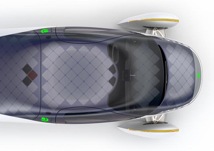 Анонсирован электромобиль, не нуждающийся в зарядке от сети