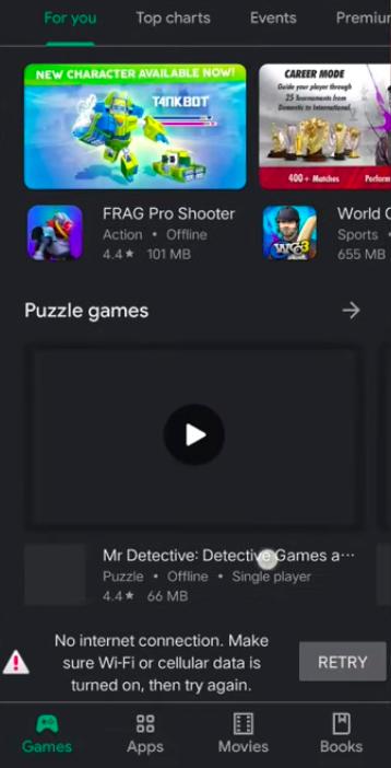Google внедрила игру-пасхалку в магазин приложений Google Play