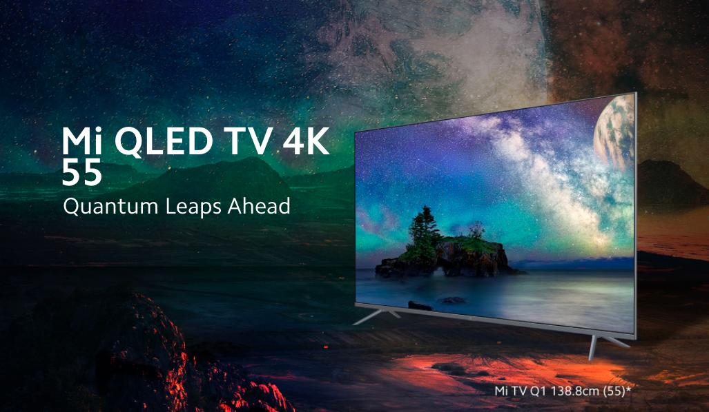 Xiaomi представила новый 55-дюймовый QLED-телевизор за 55 тыс рублей