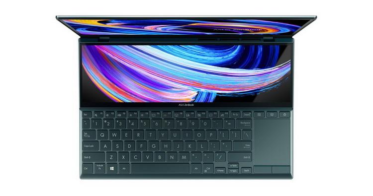 ASUS анонсировала флагманский ультрабук с двумя дисплеями и новейшими процессорами Intel