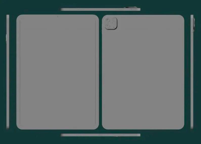 Раскрыта внешность новейших Apple iPad Pro