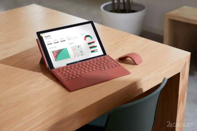 Microsoft презентовала планшет Surface Pro 7 Plus с повышенной автономностью и новым процессором Intel 11-го поколения (4 фото)