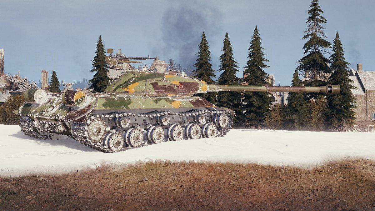 В World of Tanks добавили камуфляж для танков с носками