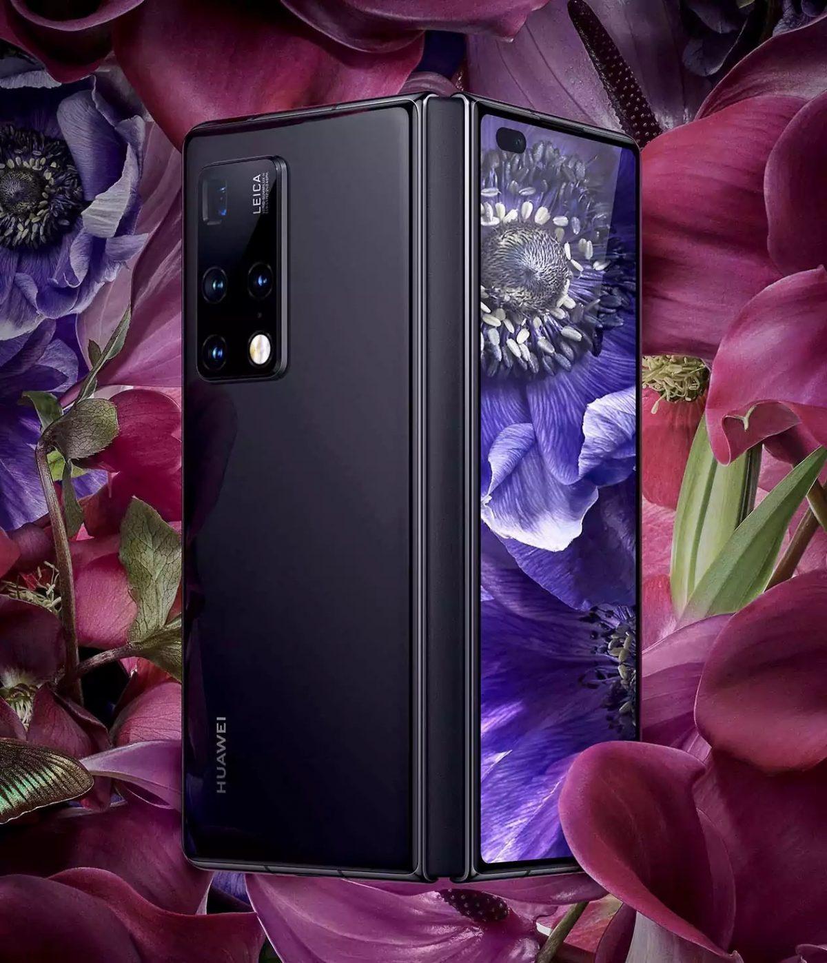 Новый складной смартфон Huawei Mate X2 продают почти за 500 тысяч рублей