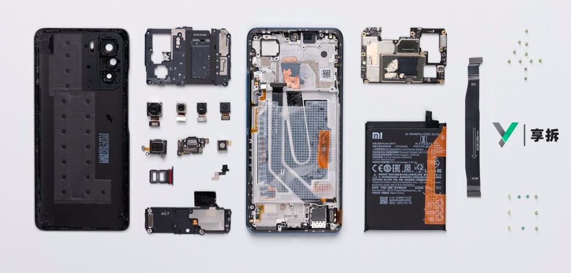 Новый флагман Xiaomi Redmi K40 разобрали