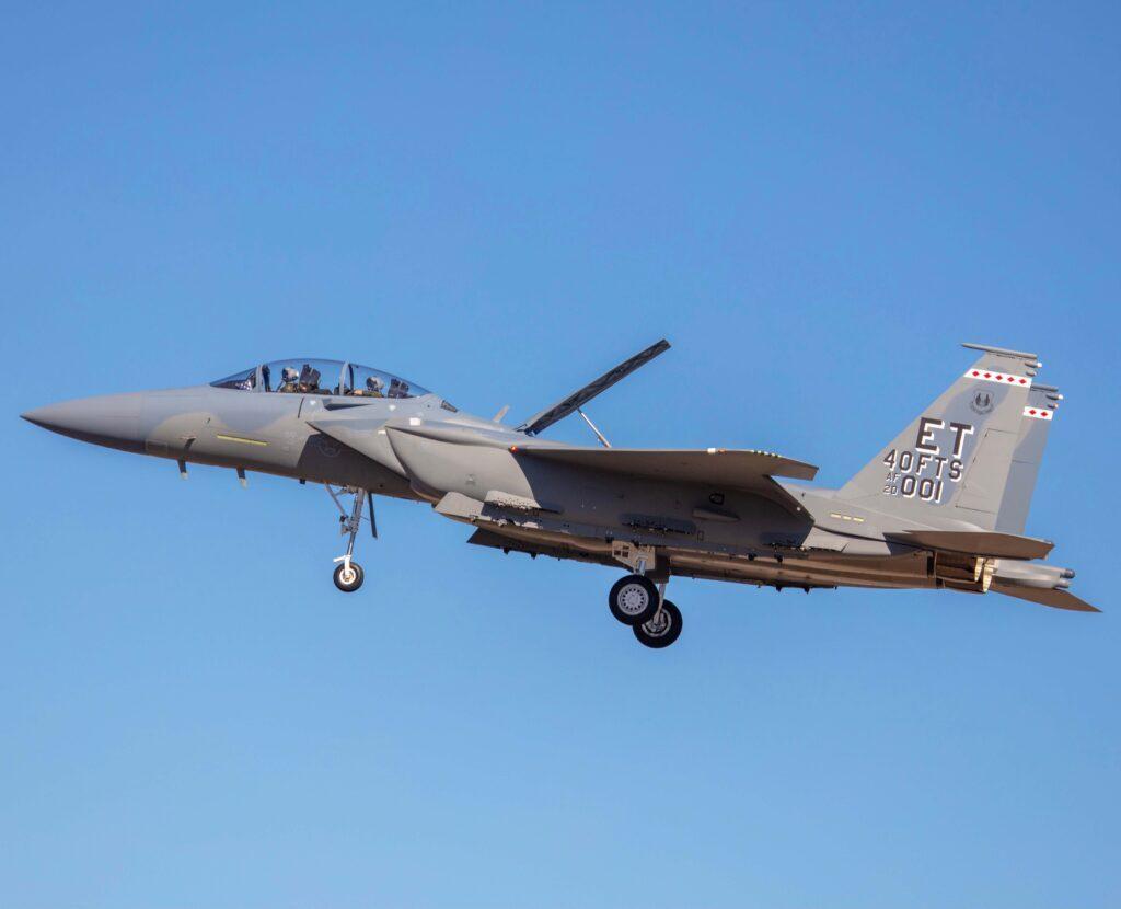 Один из мощнейших истребителей планеты показали в раскраске ВВС США