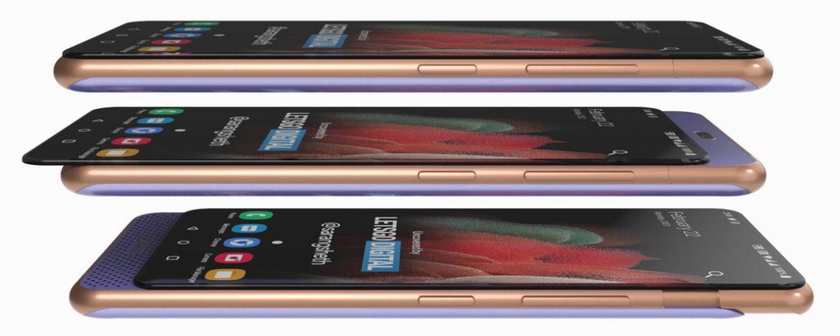 Раскрыта внешность двойного слайдера Samsung