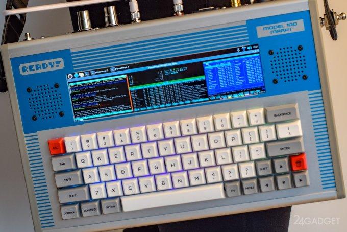 Ready! Model 100 – корпус Raspberry Pi для энтузиастов киберпанка (8 фото + видео)
