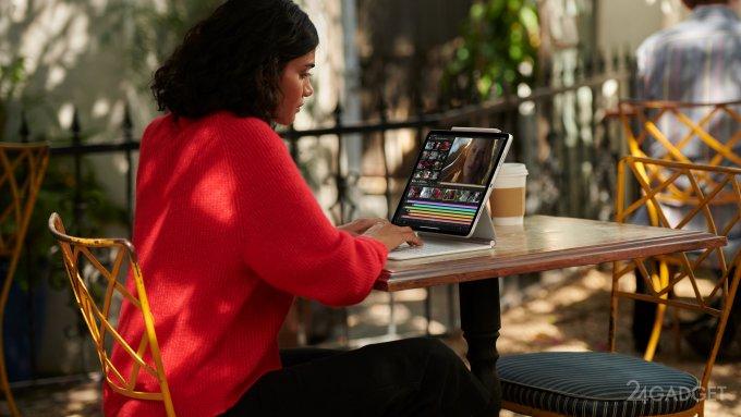 Apple запускает новый iPad Pro с процессором M1 (3 фото + видео)