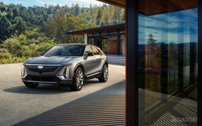 Cadillac представила первый фирменный серийный электромобиль LYRIQ с автономным пробегом до 480 км (9 фото + видео)