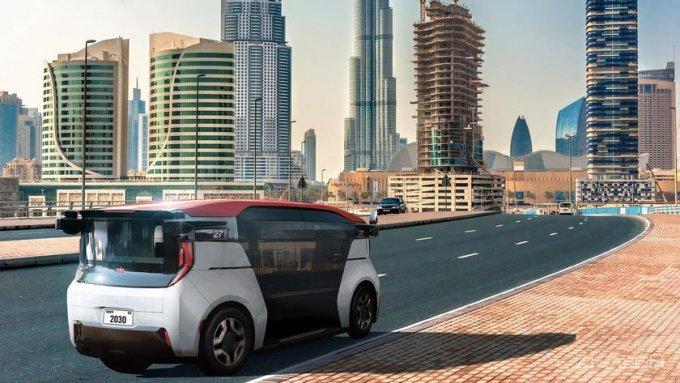 Беспилотное такси Cruise Origin выедет на улицы Дубая в 2023 году (2 фото + видео)