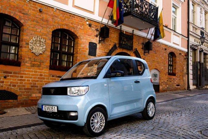 В Европе началась продажа самого дешевого электромобиля Freze Nikrob по цене 10 тыс евро