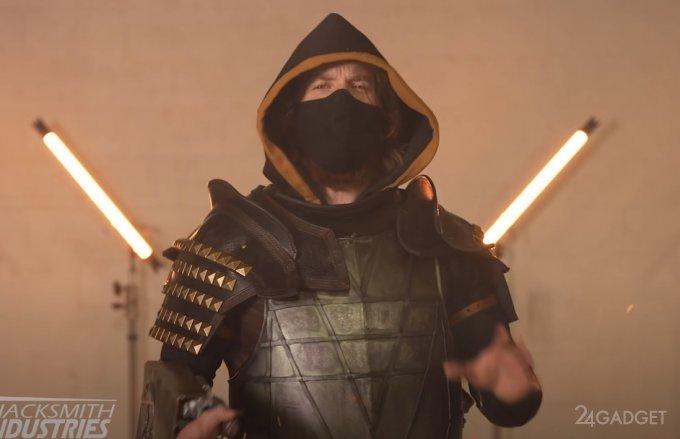 Гарпун Скорпиона из Mortal Kombat становится реальностью (видео)