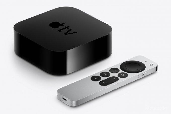 Представлено следующее поколение Apple TV 4K, с новым пультом Siri Remote (5 фото)