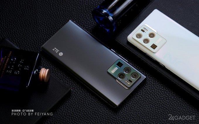 Смартфон ZTE Axon 30 Ultra получил сразу три 64 Мп сенсора (3 фото)