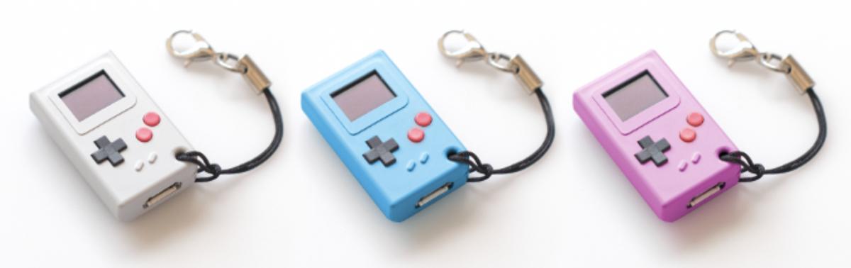 Анонсирована миниатюрная консоль-брелок