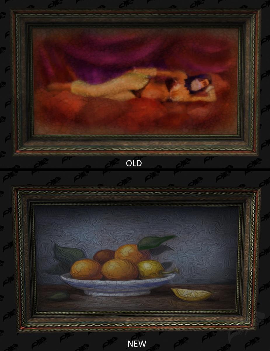 В World of Warcraft эротические картинки заменили на более приличные