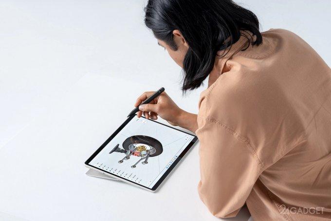 Представлены новые планшеты Microsoft Surface Pro 8 (4 фото + видео)