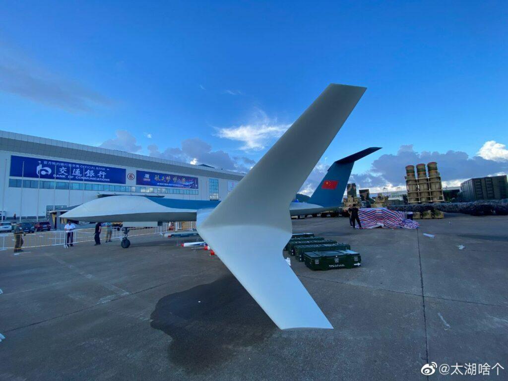 Раскрыт облик большого китайского ударного беспилотника