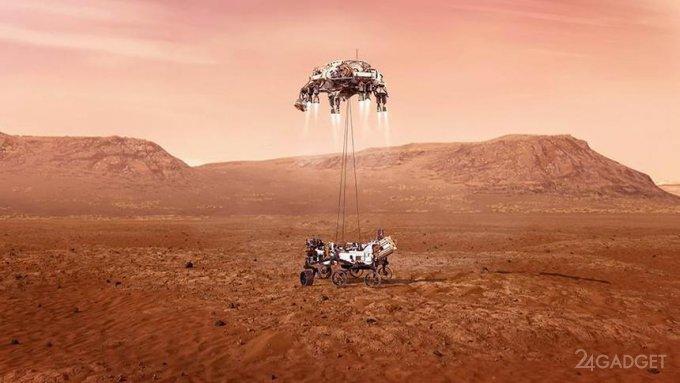 NASA обнародовало записанные марсианские звуки